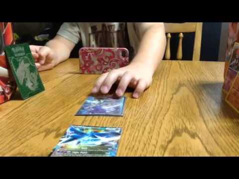 3 Pokemon card battle