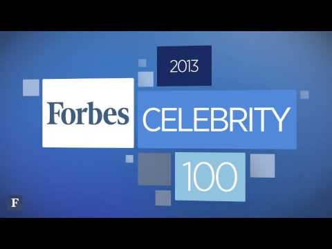 Forbes' Celebrity 100; 2013