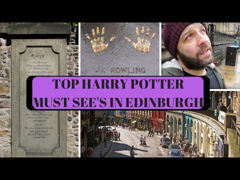 Top Harry Potter Must-sees In Edinburgh