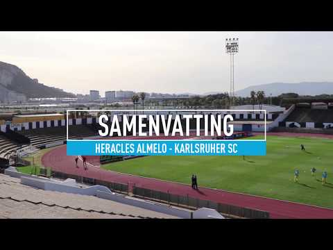 Heracles Almelo - Karlsruher SC 2-3 | 12-01-2018 | Samenvatting