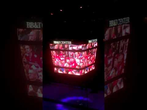 Florida Panthers vs Carolina Hurricanes intro 2017