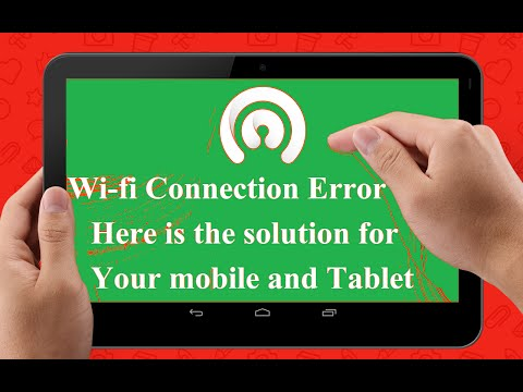 wifi authentication problem android phone and tablet solution with instructions and solved trick