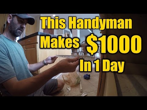 Handyman Makes $1000 in One Day | How He Does it | THE HANDYMAN |