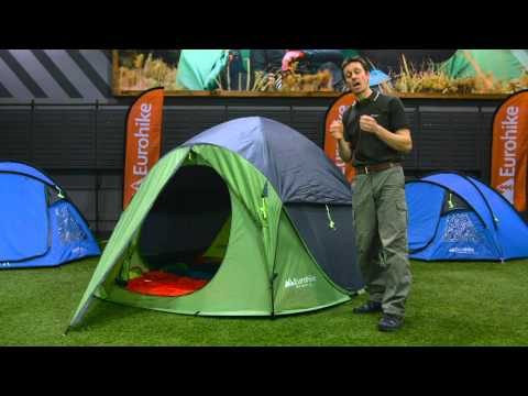 the latest f1893 d5335 The Eurohike Pop 400 DS Tent - YouTube