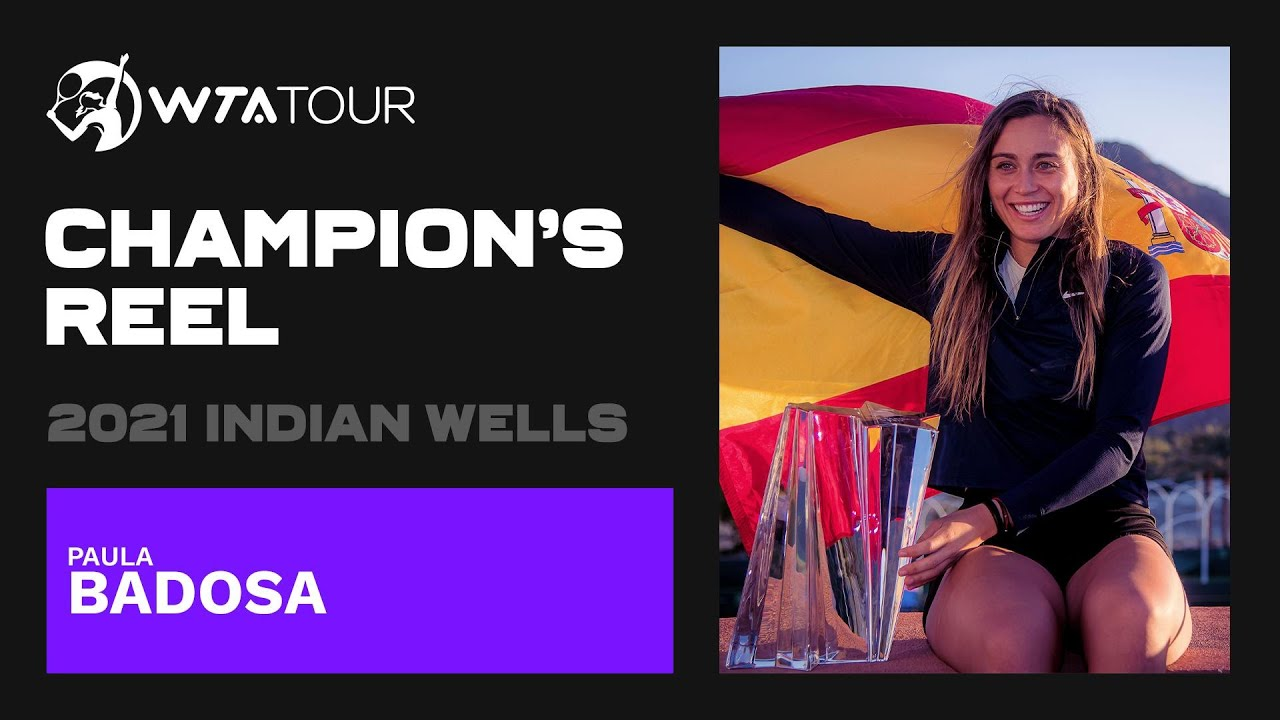 Download Paula Badosa's BEST points from her 2021 Indian Wells title run 💫