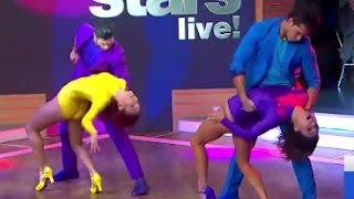 'DWTS' Pros Val Chmerkovskiy, Sharna Burgess Perform Live on 'GMA'