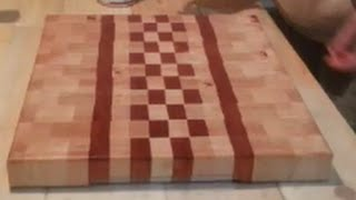 Cutting Board - Maple & Jatoba