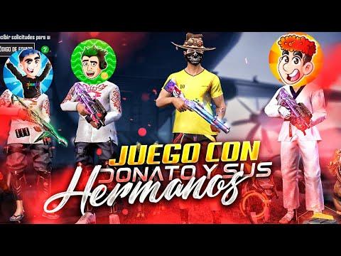 DONATO ME INVITA A JUGAR CON SUS HERMANOS JEANKI & HECTORINO Y ROMPIMOS LA CLASIFICATORIA🔥 FREE FIRE - MrStiven Tc