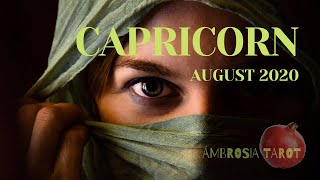 "Capricorn Love August 16-31, 2020/ ""WOW! FINALLY! I'll get a side of Love and some extra passion!"""