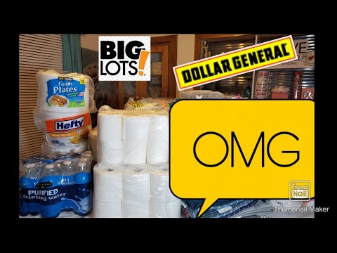 Dollar General | Dumpster Full Of Sh*t Paper And More #dumpsterdiving #reducingwaste