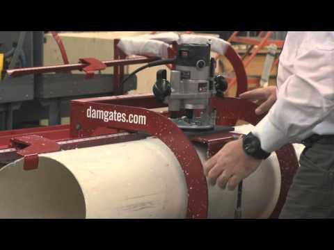 DamGates Irrigation Pipe Hole System
