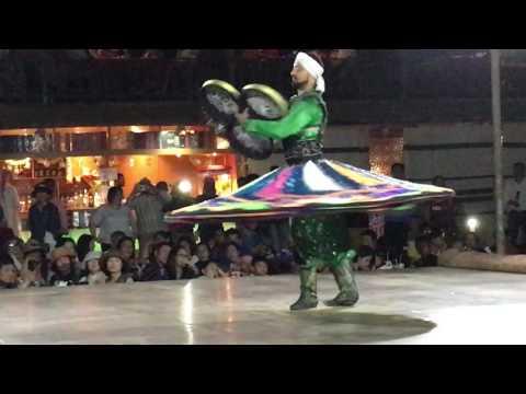 Tanoura Dance in Desert Camp Dubai 2017