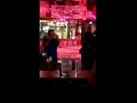 Karaoke at forbidden city in Puyallup, WA
