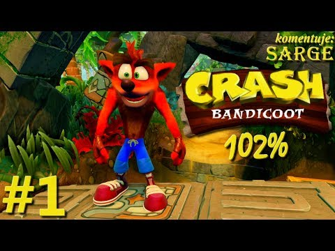 Zagrajmy w Crash Bandicoot PS4 Remake (102%) odc. 1 - Remake świetnej platformówki