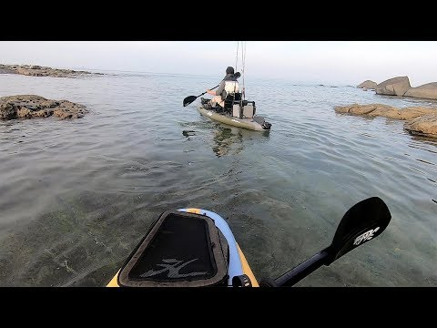 離島で朝からカヤック釣り!【足漕ぎカヤック・地磯1泊2日#4】