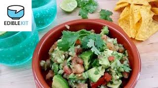 Quick Recipe Homemade Guacamole