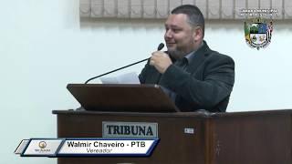 32ª Sessão Ordinária - Vereador Walmir Chaveiro