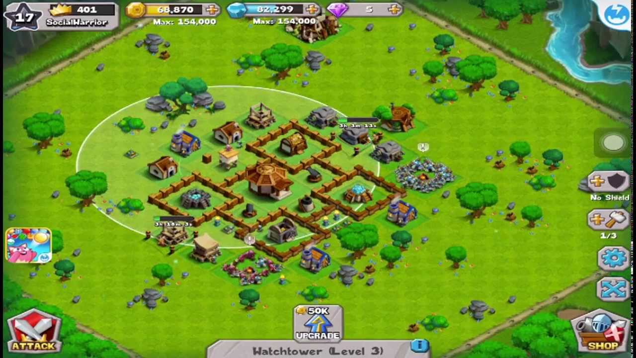 Kingdom Clash Ipad Game Review Youtube