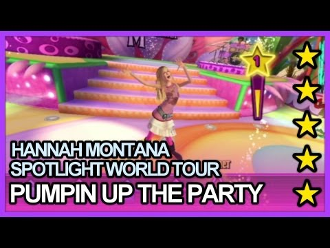 Hannah Montana Spotlight World Tour - Pumpin Up The Party 5 Stars Hard