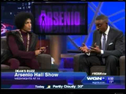Prince on the Arsenio Hall Show