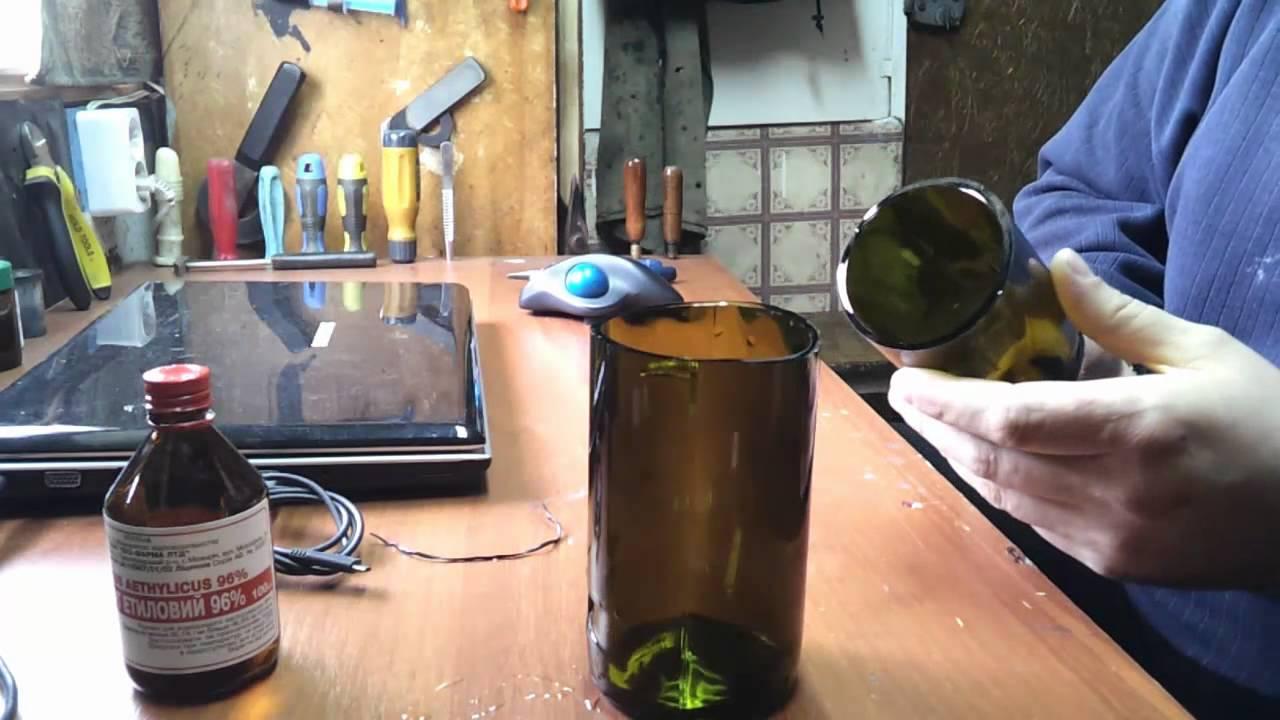 Как разрезать бутылку в домашних условиях вдоль 37