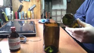 Очумелые ручки или Как разрезать бутылку