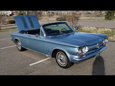 1964 Chevrolet Corvair Monza Spyder Convertible Turbo