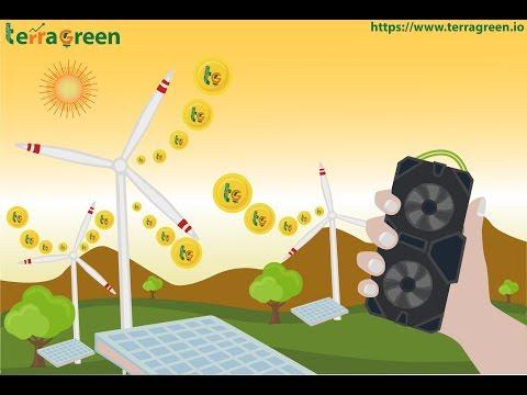 TerraGreen - Блокчейн платформа возобновляемой энергии.