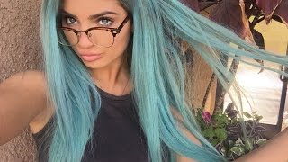 One of Carrington Durham's most viewed videos: HOW TO DYE YOUR HAIR BLUE ♡