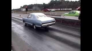 Pontiac 2+2 drag racing