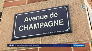 Reportage France 3 - Application Avenue de champagne
