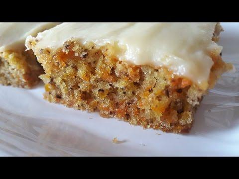 Glutensiz Havuçlu Kek Tarifi | Gluten-Free Carrot Cake