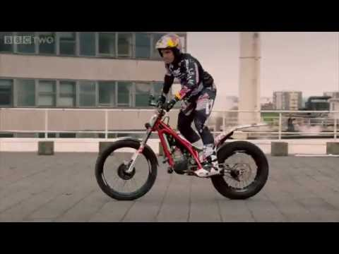 Parkour vs Motorcyclist  Race to the top of Television Centre   Top Gear  Series 20   BBC Two