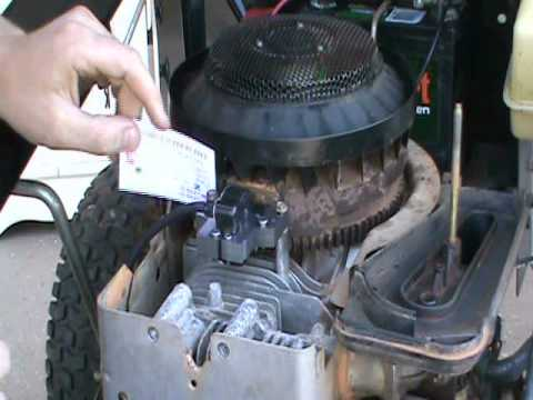 BRIGGS and STRATTON COIL ARMATURE MAGNETO REPAIR NO SPARK - YouTube