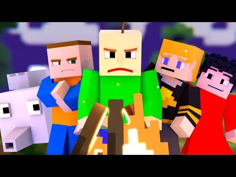 'BALDI'S FIELD TRIP - THE MUSICAL' Minecraft Music Video |  3A Display (Song by Random Encounters)