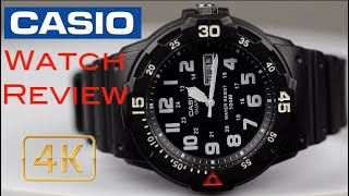 Casio Sport Dive Watch Review