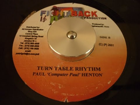 TURN TABLE RIDDIM - FIGHT BACK PRODUCTION