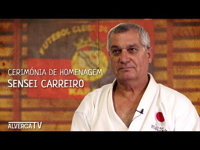 Cerimónia Homenagem | Sensei Carreiro