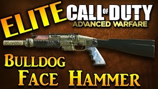 Cod Advanced Warfare Elite Bulldog Face Hammer Shotgun- Advanced Warfare Elite Guns Gameplay