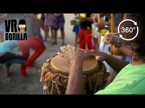 Drum Circle in Salvador, Brazil (360 VR Video)