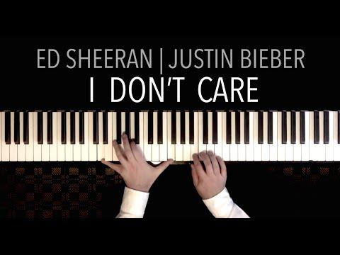 Ed Sheeran & Justin Bieber - I DON&39;T CARE  Piano Cover by Paul Hankinson