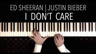 Ed Sheeran & Justin Bieber I DON T CARE Piano Cover by Paul Hankinson