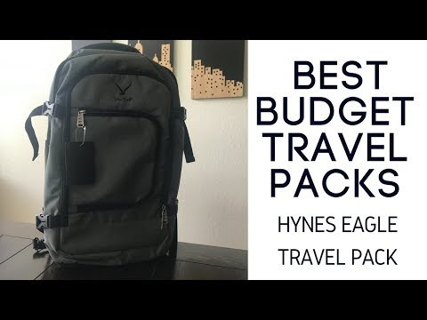 Best Budget Travel Packs: Hynes Eagle 40L Review