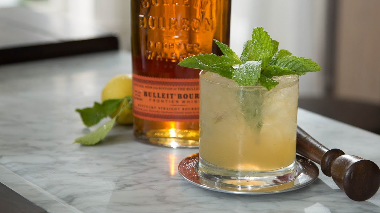Summer cocktails whiskey smash pottery barn youtube for Good summer whiskey drinks