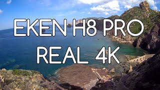 eken H8 PRO * 4K test *  ActionCamItalia