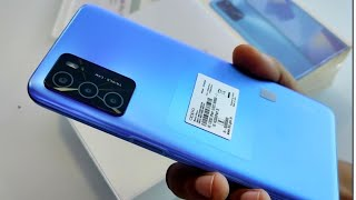 Oppp A16 Pearl Blue Unboxing, First Look & Review !! Oppo A16, G35 Gaming Processor,5000 mAh Battery