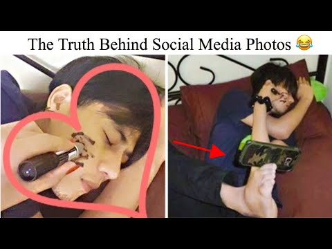 Photos Proving That Social Media Pictures Are a Shameless Lie
