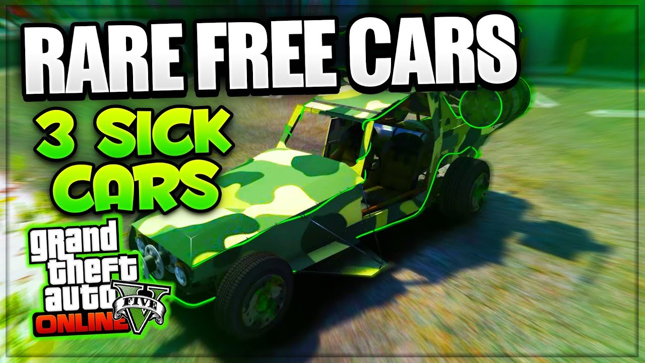 GTA Online FREE RARE CARS Cool Secret Cars Some - Cool xbox cars
