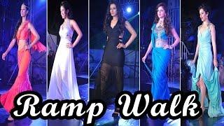 Serial Actresses @ Ramp Walk at Telly Calendar