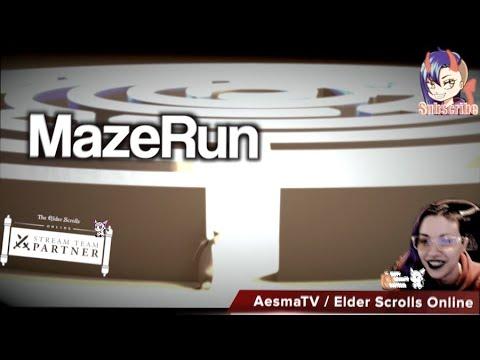 Elder Scrolls Online Moocats Maze Run  